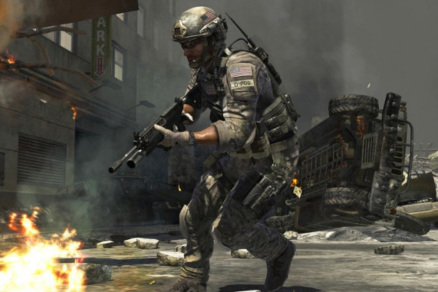A screenshot from Call of Duty: Modern Warfare 3 (Xbox)