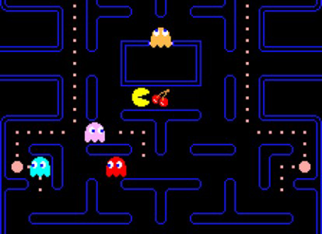 (Screenshot of Pac-Man courtesy MoMa)