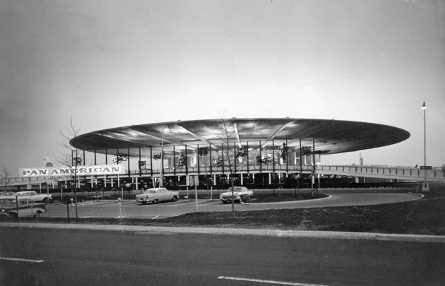 The Pan Am Worldport in 1965 (Hulton Archive/Getty Images)