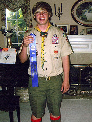 Ryan Andresen has been a Scout for 12 years. (Andresen family)