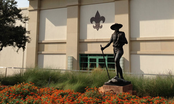 Boy Scouts of America national headquarters in Irving, Texas (Jason Sickles/Yahoo!)