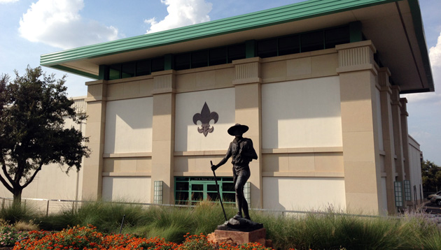 Boy Scouts of America headquarters in Irving, Texas. (Jason Sickles/Yahoo News)