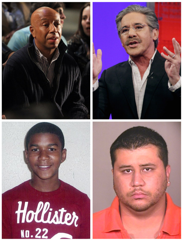 Clockwise from top left: Simmons, Rivera, Zimmerman, Martin (AP)