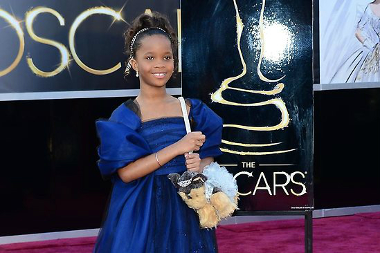 Quvenzhané Wallis at the Oscars (Getty Images)