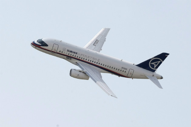 The Sukhoi Superjet 100 performs at a Russian air show in 2009. (AP/File)
