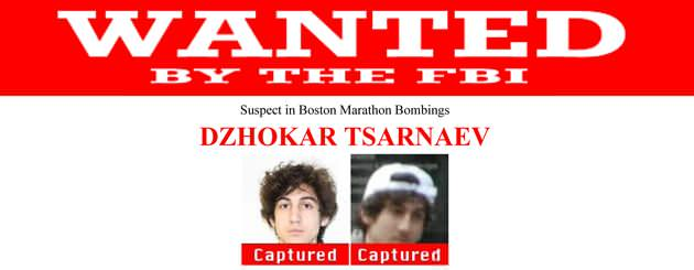 Wanted poster showing Dzhokhar Tsarnaev as being captured. (FBI)