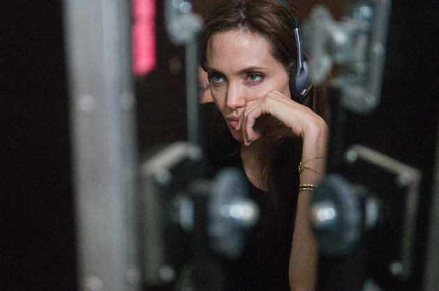 Angelina Jolie directing 'The Land of Blood and Honey' (Photo by FilmDistrict)