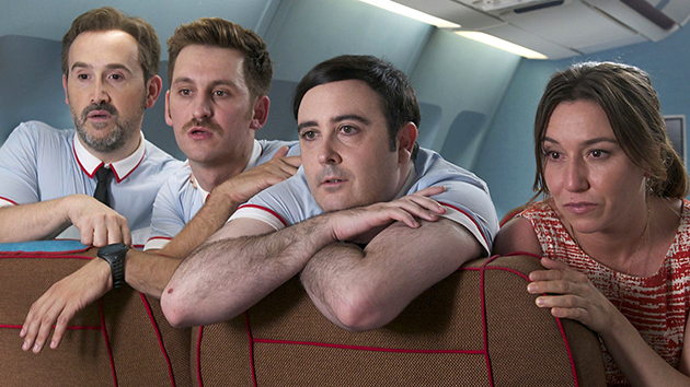 The high flying flight crew in Pedro Almodovar's
