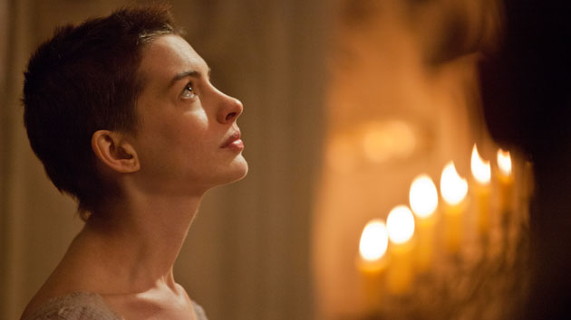 Anne Hathaway in 'Les Miserables' (Photo: Universal Pictures)