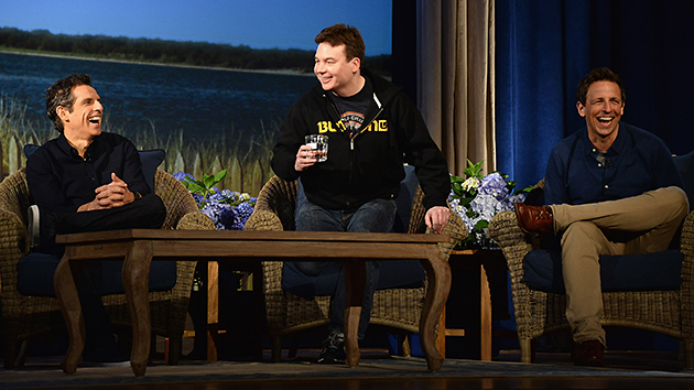 Ben Stiller, Mike Myers and Seth Meyers at the Nantucket Film Festival