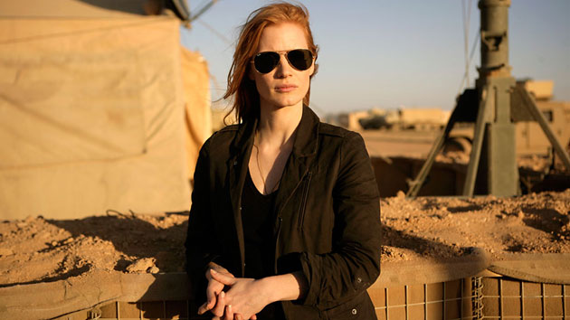 Jessica Chastain in 'Zero Dark Thirty' (Photo: Columbia Pictures)