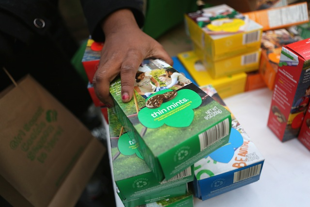 Girl Scout Cookies (Getty Images)