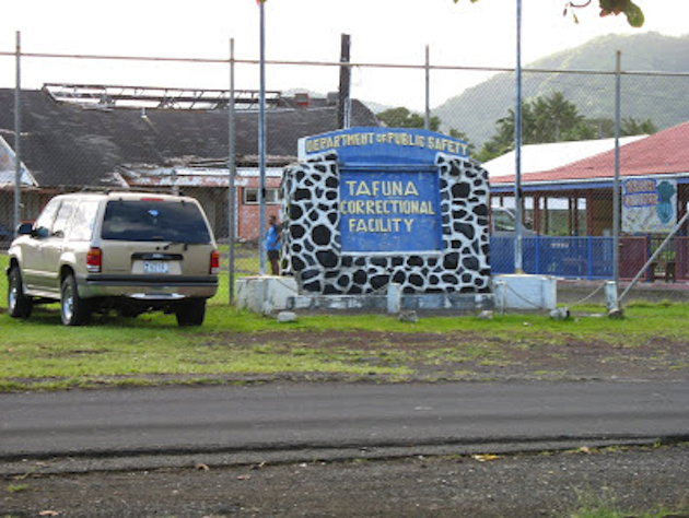 Two officers are charged with letting inmates go on beer runs at American Samoa's only prison facility.