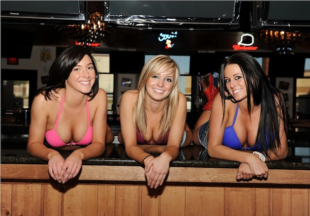 Three employees of the Bikinis Bar & Grill (PR Wire)