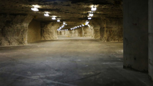 Inside the underground Vivos Survival Shelter & Resort (AP)