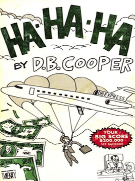 Did D.B. Cooper publish his own memoir? Image credit: OregonLive.com