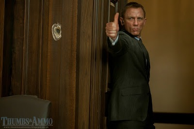 Daniel Craig's thumb (Courtesy of Thumbs & Ammo)