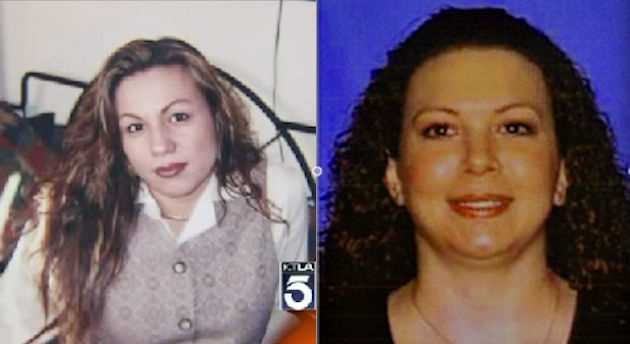 Los Angeles still plans to bill families of Irma Zamora and Stacey Schreiber (Yahoo News composite. Original images KTLA/DMV)