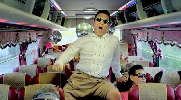 "South Korean artist Psy in his ""Gangnam Style"" video. (YouTube)"