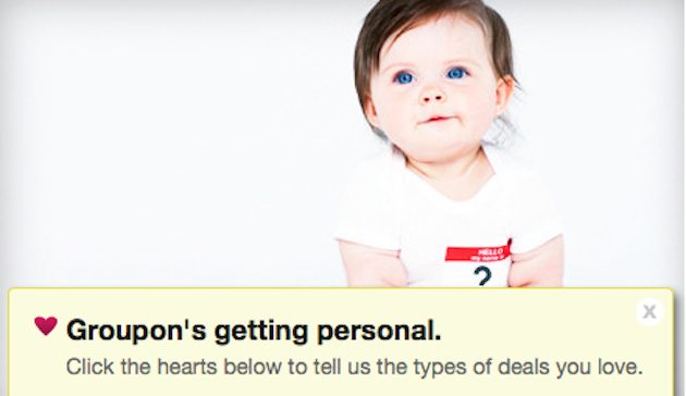 Would you pay $1,000 for a company to name your baby? (Groupon.com)