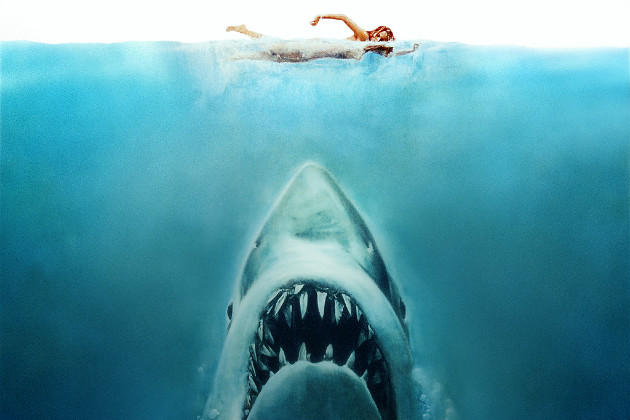 "Poster for the 1975 film ""Jaws."" (Universal)"