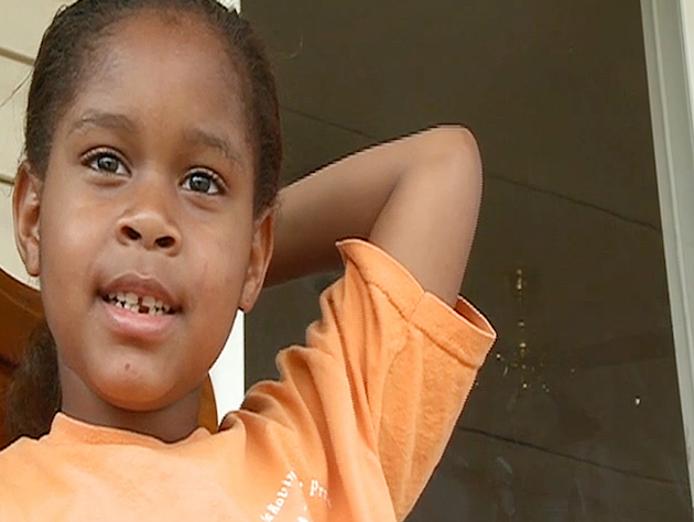 6-year-old Salecia Johnson was handcuffed by police over alleged 'tantrum' (AP/13WMAZ.com)