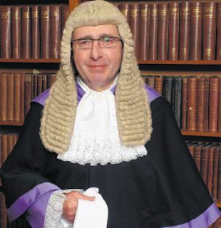 Judge Gary Burrell dismissed a potential juror who said he was too racist to serve. (Southampton Crown Court)
