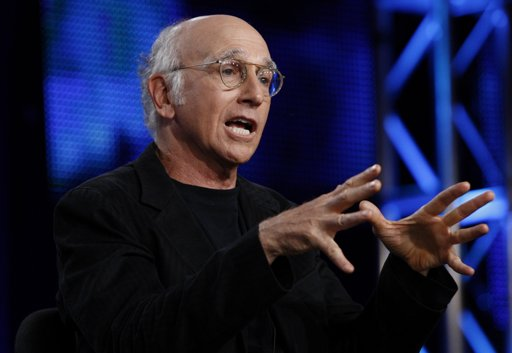 There are several cities in which comedian Larry David may find relief from his bald conspiracies. (Matt Sayles/AP)