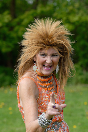 Shaw dressed as singer Tina Turner (John Robertson/Barcroft Media /Landov)