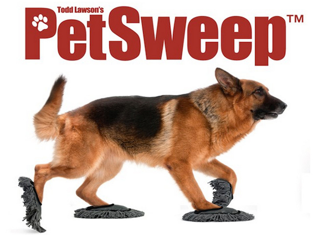 """Pet Sweep"" is a joke product some animal lovers wouldn't mind being a reality (Prankpack.com)"