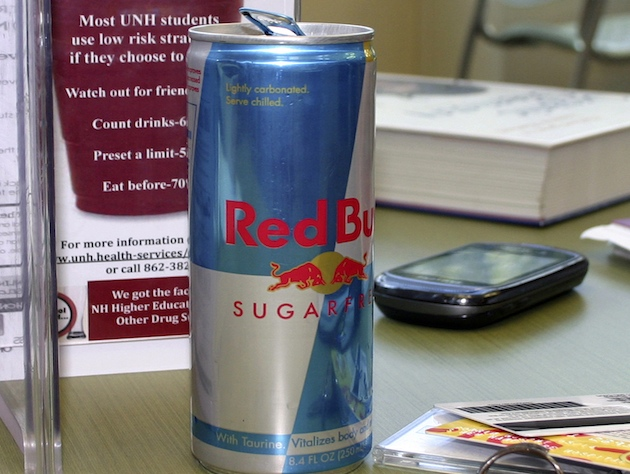Could caffeinated drinks like Red Bull help prevent skin cancer? (Holly Ramer/AP)