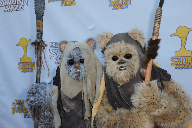 Creatures from across the galaxy attended this year's Saturn Awards. (Saturn Awards)