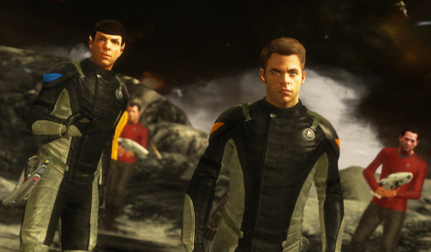 A screenshot from the new Star Trek video game (Paramount)