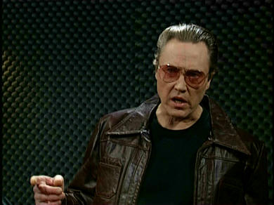More cowbell! Walken as Bruce Dickinson (SNL/NBC)
