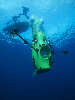 This week, James Cameron will attempt a historic dive in his solo submarine (AP Photo/Mark Thiessen, National Geographic)