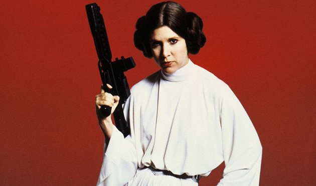 Carrie Fisher as Princess Leia (Lucasfilm)