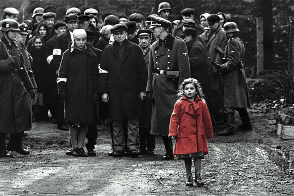 Dabrowska in a scene from Schindler's List (Allstar/Cinetext/Universal)