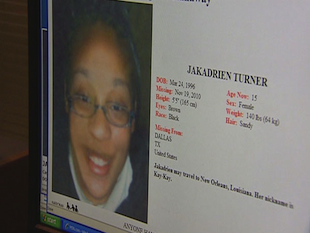Missing teen Iakadrien Turner has turned up in ColombiaA Dallas teen missing ...
