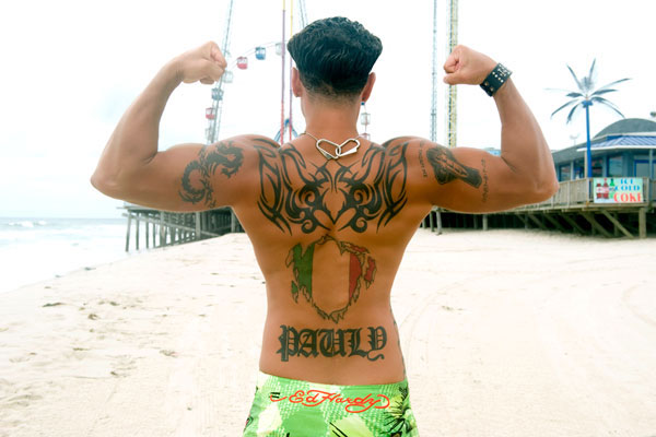 "Pauly D of MTV's ""Jersey Shore"" (MTV)"