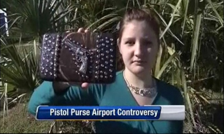 ... Vanessa Gibbs found herself detained by the Transportation Security ...