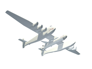 The Stratolaunch will soon take tourists into space