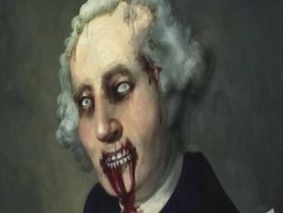 """Zombie George Washington"" from Etsy.com"