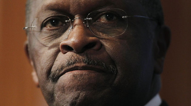 Accuser's press conference cuts Herman Cain's odds in half