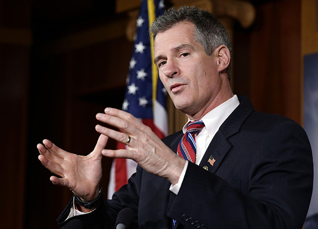 Scott Brown (Alex Brandon/AP)