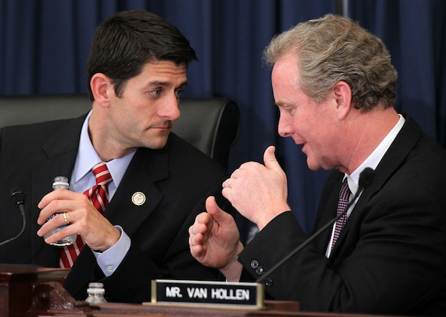 Paul Ryan and Chris Van Hollen (Alex Wong/Getty Images)