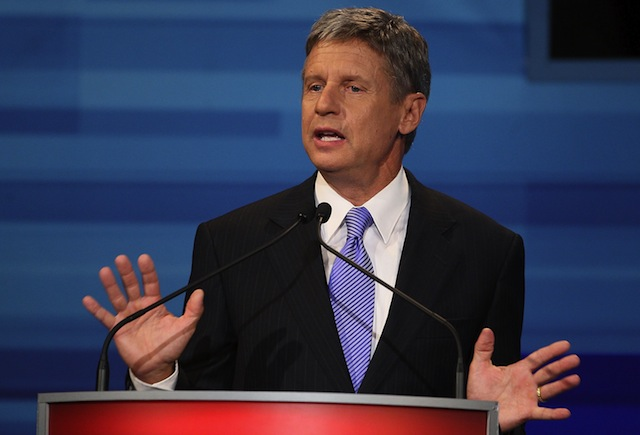 Gary Johnson (Mark Wilson/Getty Images)