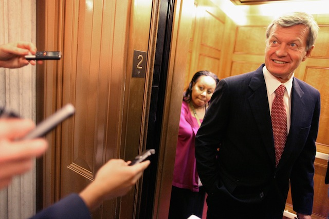 Montana Democratic Sen. Max Baucus (Chip Somodevilla/Getty Images)