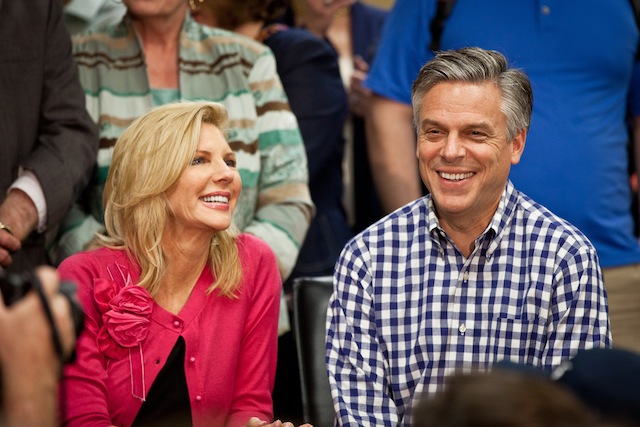 Jon and Mary Kaye Huntsman (Richard Ellis/Getty Images)