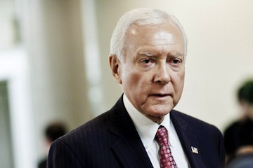 U.S. Sen. Orrin Hatch (R-UT) at the Capitol in March. (T.J. Kirkpatrick/Getty Images)