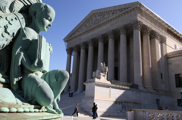 The U.S. Supreme Court in March. (Mark Wilson/Getty))